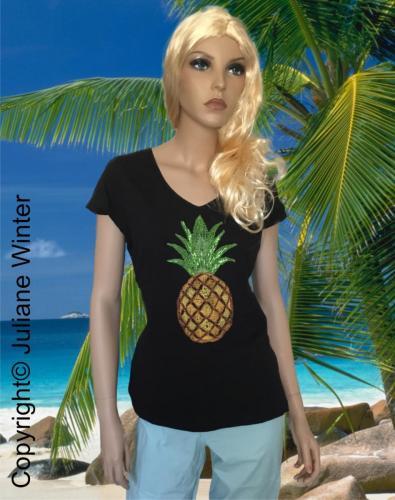 Motiv Ananas / Motif Pinapple